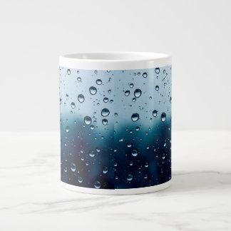 Mug with rain drops