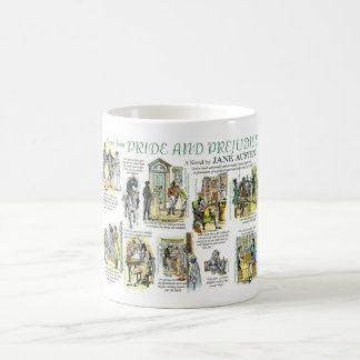 Mug with scenes from Pride and Prejudice