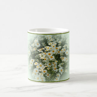 Mug with Soft Framed Daisies