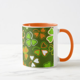 Mug  with  st. Patrick's Day seamless
