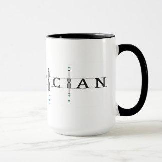 "Mug with ""Statistician"" logo"