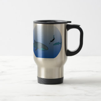 Mug with Whaleshark Illustration