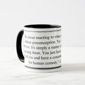 Mug You can find pictures anywhere quote Erwitt