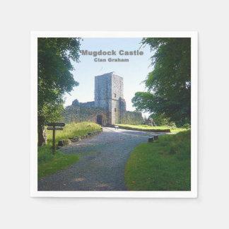 Mugdock Castle Disposable Serviette