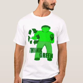 MUGGIN' HOOD -- The Green Mugger T-Shirt