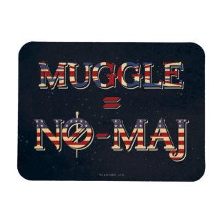 Muggle = No-Maj Magnet