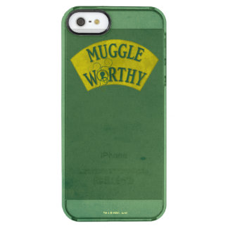 Muggle Worthy Clear iPhone SE/5/5s Case