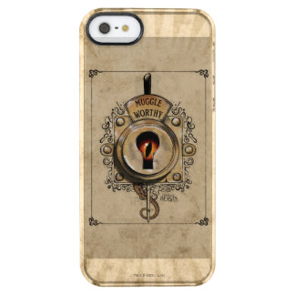 Muggle Worthy Lock With Fantastic Beast Locked In Clear iPhone SE/5/5s Case