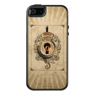 Muggle Worthy Lock With Fantastic Beast Locked In OtterBox iPhone 5/5s/SE Case
