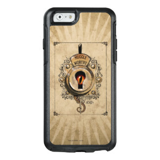 Muggle Worthy Lock With Fantastic Beast Locked In OtterBox iPhone 6/6s Case