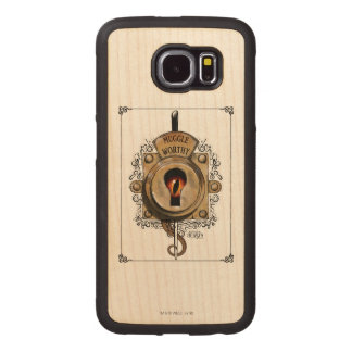 Muggle Worthy Lock With Fantastic Beast Locked In Wood Phone Case