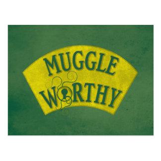 Muggle Worthy Postcard