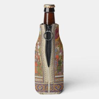 Mughal Indian India Islam Islamic Muslim Boho Art Bottle Cooler