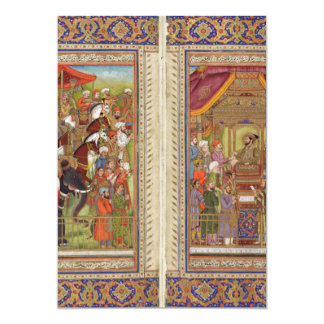 Mughal Indian India Islam Islamic Muslim Boho Art Card