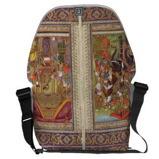 Mughal Indian India Islam Islamic Muslim Boho Art Courier Bags