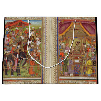 Mughal Indian India Islam Islamic Muslim Boho Art Large Gift Bag