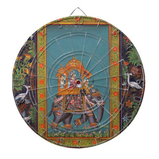 Mughal Indian India Islam Persian Persia Elephant Dartboard