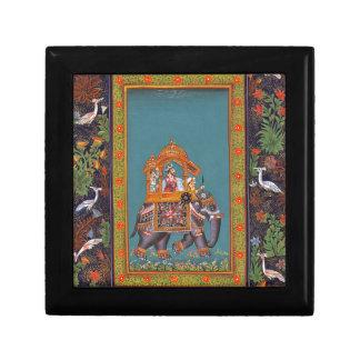 Mughal Indian India Islam Persian Persia Elephant Gift Box