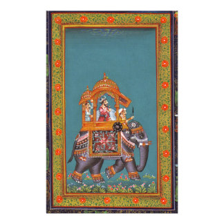 Mughal Indian India Islam Persian Persia Elephant Stationery