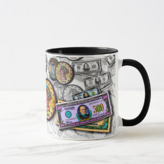 Mugs & Cups - Big Coin Pop Art