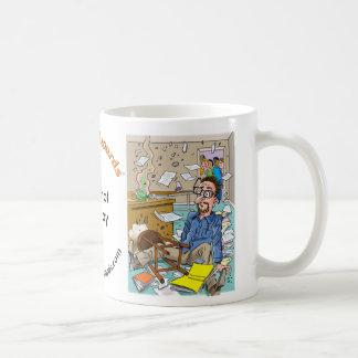 Mugshot Monday, Teacher In Tatters Coffee Mug