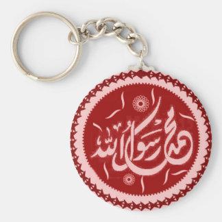 Muhammad rasool Allah islamic keychain