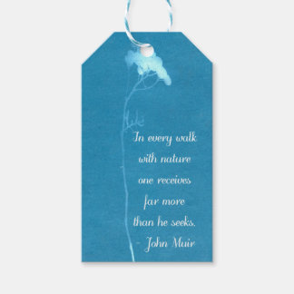 Muir Nature Quote Gift Tags
