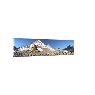Muir Pass - John Muir Trail - Sierra Nevada Canvas Print