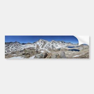 Muir Pass Panorama from Above - John Muir Trail Bumper Sticker
