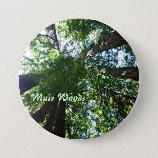 Muir Woods 7.5 Cm Round Badge