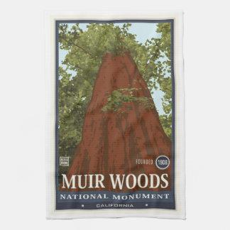 Muir Woods National Monument 3 Tea Towel