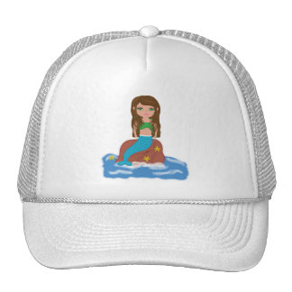Muirenn the Mermaid Caps Trucker Hat