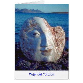 Mujer del Corazon Folded Card 2