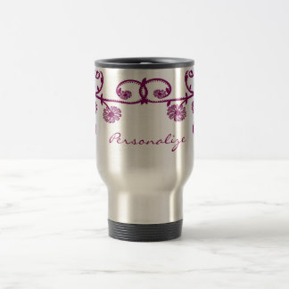 Mulberry Daisy Vine Travel Mug