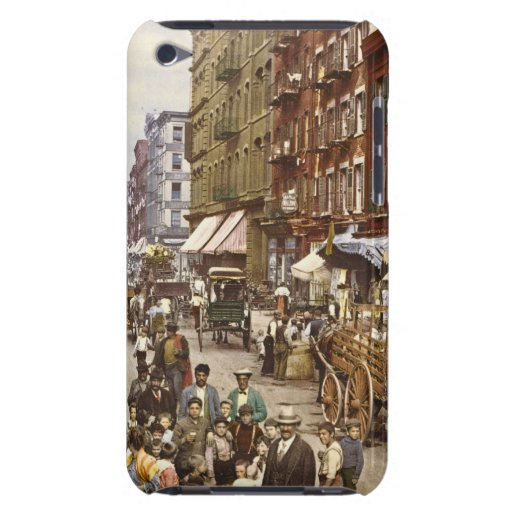 Mulberry Street Market New York City 1900 2 iPod Touch Cover