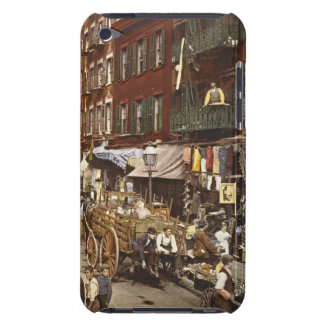 Mulberry Street Market New York City 1900 3 Barely There iPod Cover