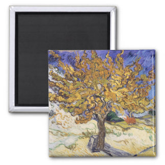 Mulberry Tree, 1889 Fridge Magnets