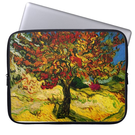 Mulberry Tree Van Gogh Fine Art Laptop Sleeve