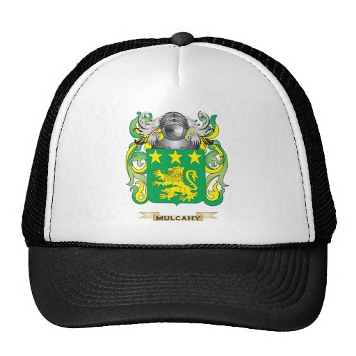 Mulcahy Coat of Arms (Family Crest) Mesh Hats