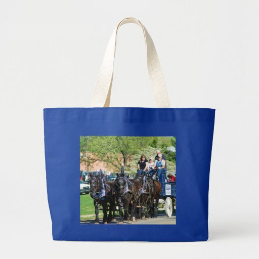 mule day parade tote bags