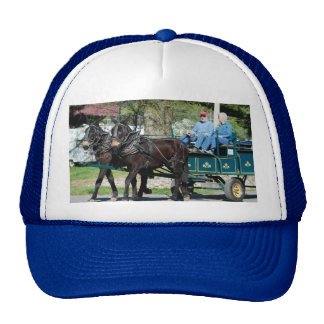 mule day parade mesh hat