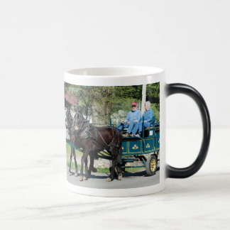 mule day parade in morphing mug