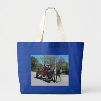 mule day parade jumbo tote bag