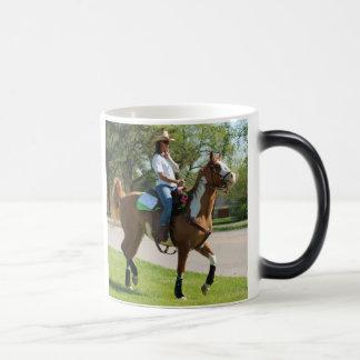 mule day parade morphing mug