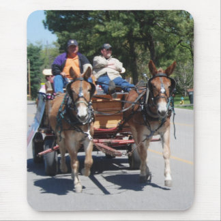 mule day parade mouse pad