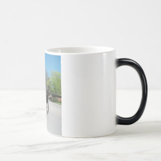 mule day parade coffee mug