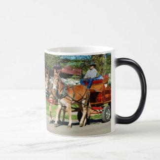 mule day parade mugs