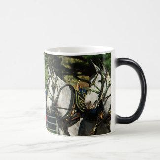 mule day parade 11 oz magic heat Color-Changing coffee mug