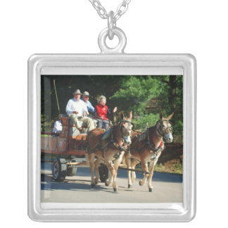 mule day parade custom necklace
