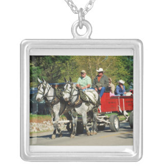 mule day parade necklaces